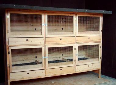 galerie sonderanfertigungen kaninchenstall h hnerstall. Black Bedroom Furniture Sets. Home Design Ideas